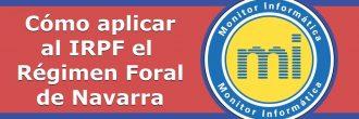 Declaración IRPF Navarra