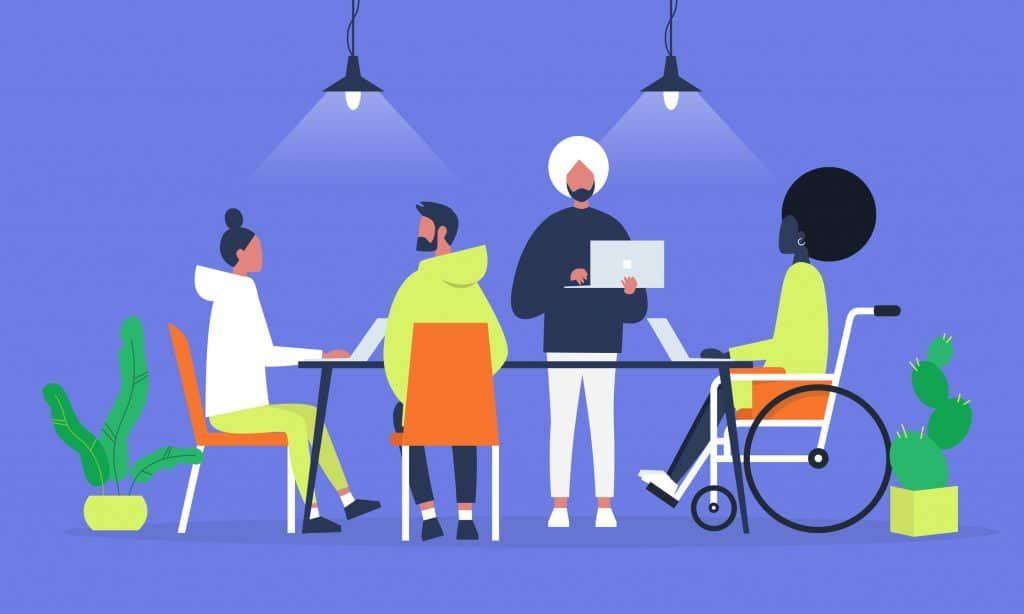 trabajador activo discapacitado irpf 2019