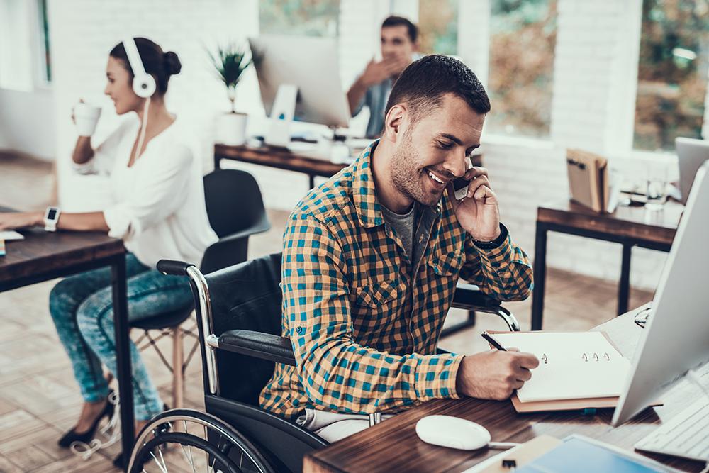 trabajador activo discapacitado irpf 2017